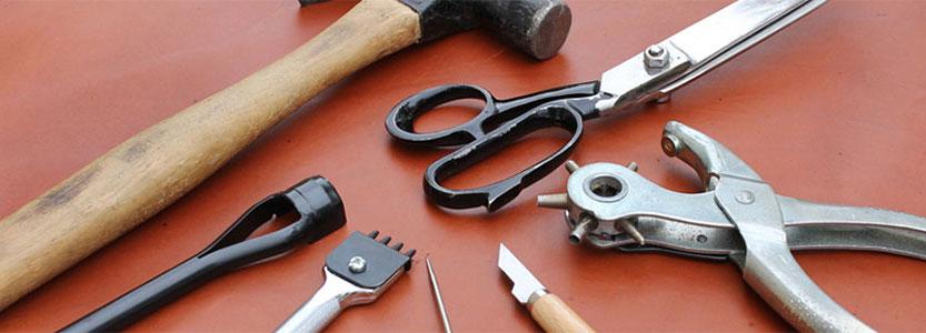 Основные средства для восстановления и реставрации кожаных изделий