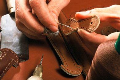 Ремонт кожаных изделий